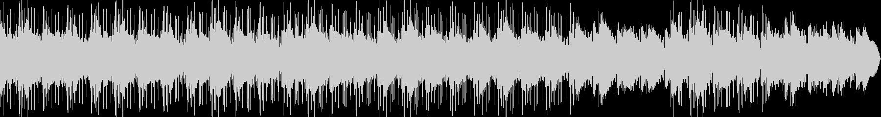 大人な雰囲気のchilloutの未再生の波形
