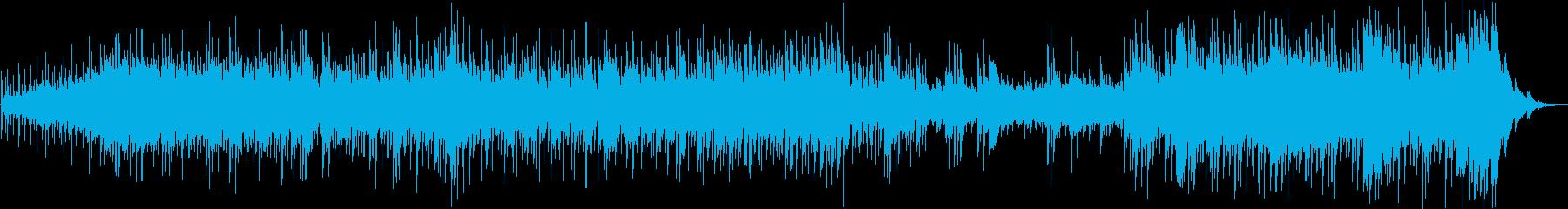 南の海を感じるファンタジック系BGMの再生済みの波形