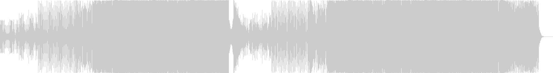 シンセの旋律が印象的なEDMの未再生の波形