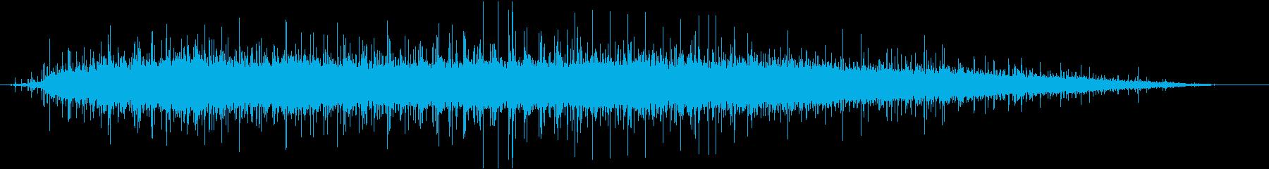 屋内:大規模な拍手拍手拍手と拍手の再生済みの波形