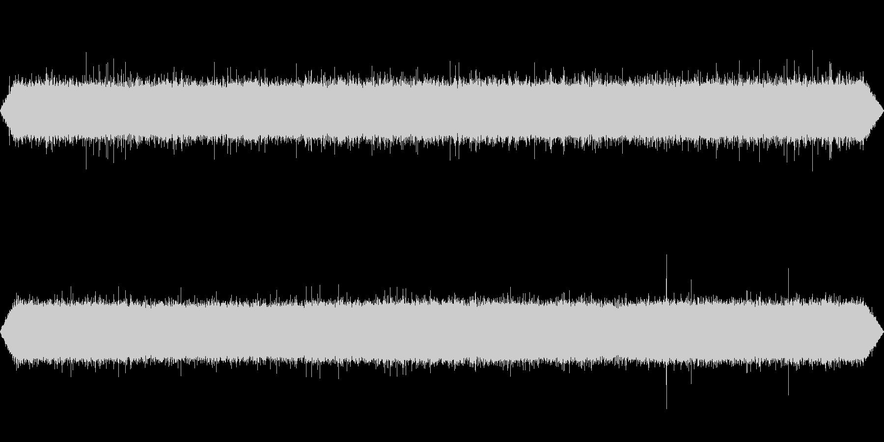 【自然音】川の流れる音01(清里)の未再生の波形