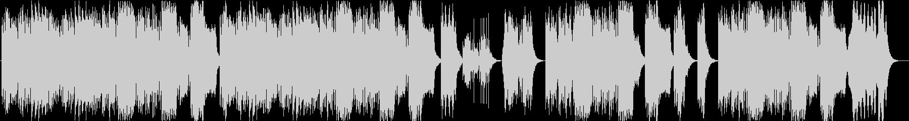 コミカルなメロディがかわいいフルートの未再生の波形