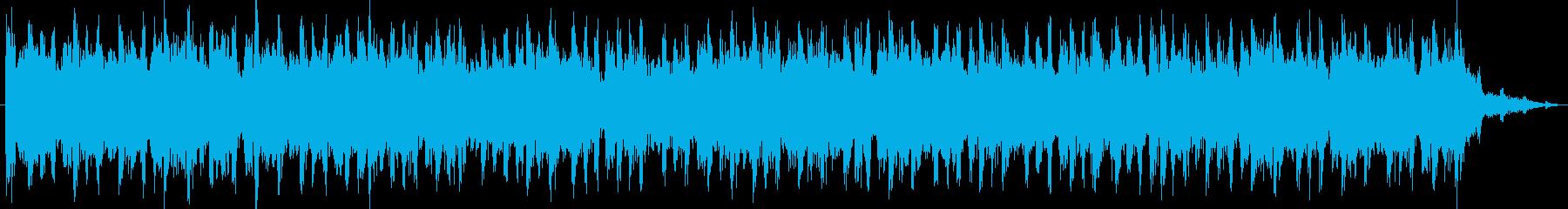 電気楽器。脈打つダンスのビート、き...の再生済みの波形