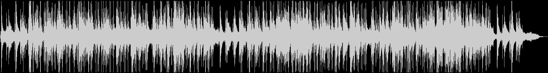 甘く切ない時間を演出するピアノバラードの未再生の波形