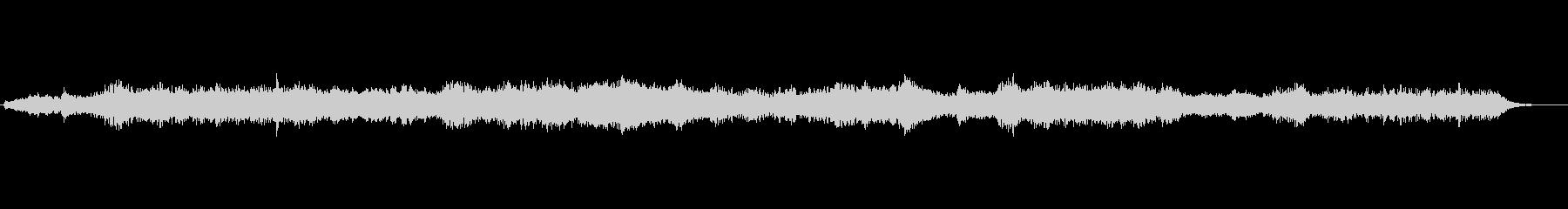 【効果音】ホラー系環境音(アンビエント)の未再生の波形