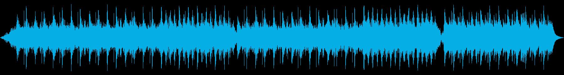 ゆったりリラックスできるヒーリング曲の再生済みの波形