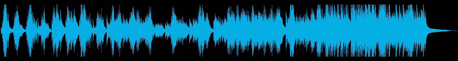 ドラマティックで和風な ピアノソロの再生済みの波形