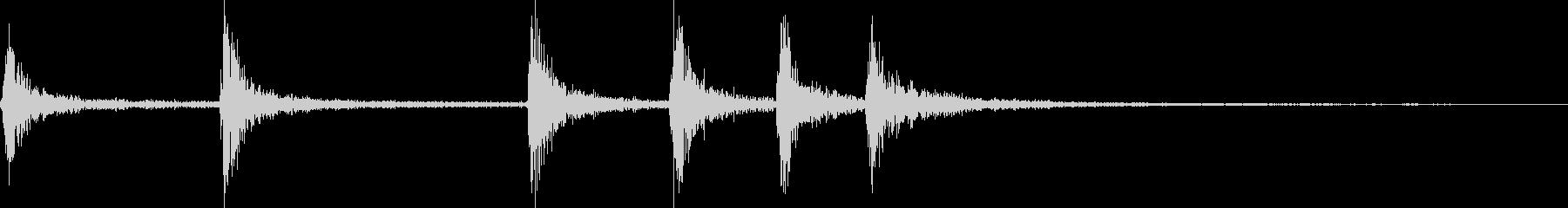 【YouTube】【物音】カランカラン!の未再生の波形