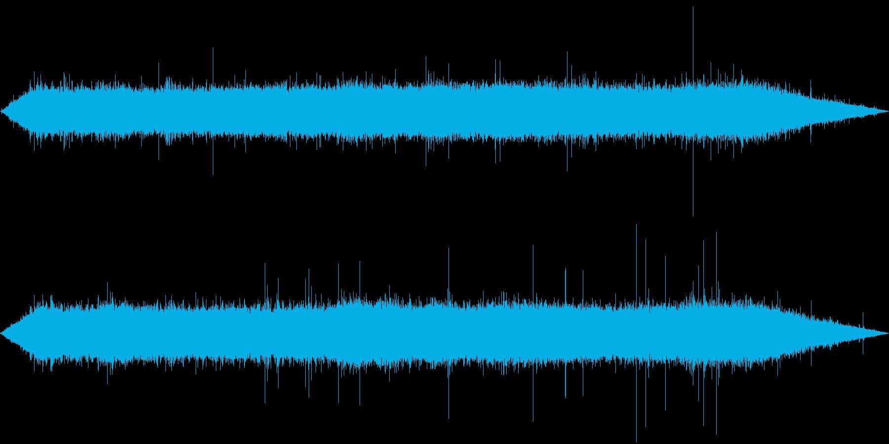 環境音-ゲリラ豪雨の再生済みの波形