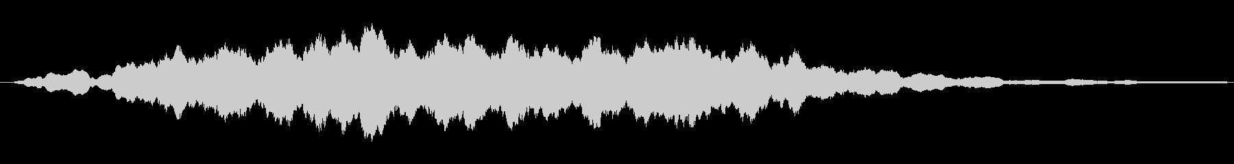 鋭い リンギングブリッター24の未再生の波形