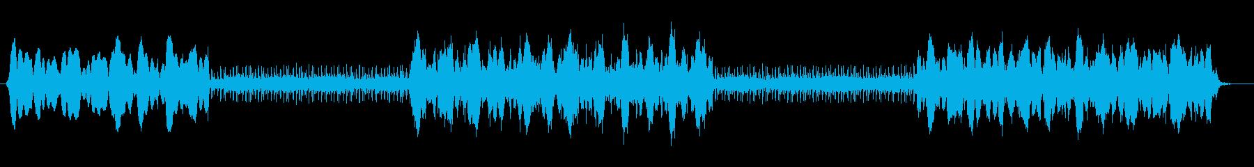 戦国時代のようなBGMの再生済みの波形
