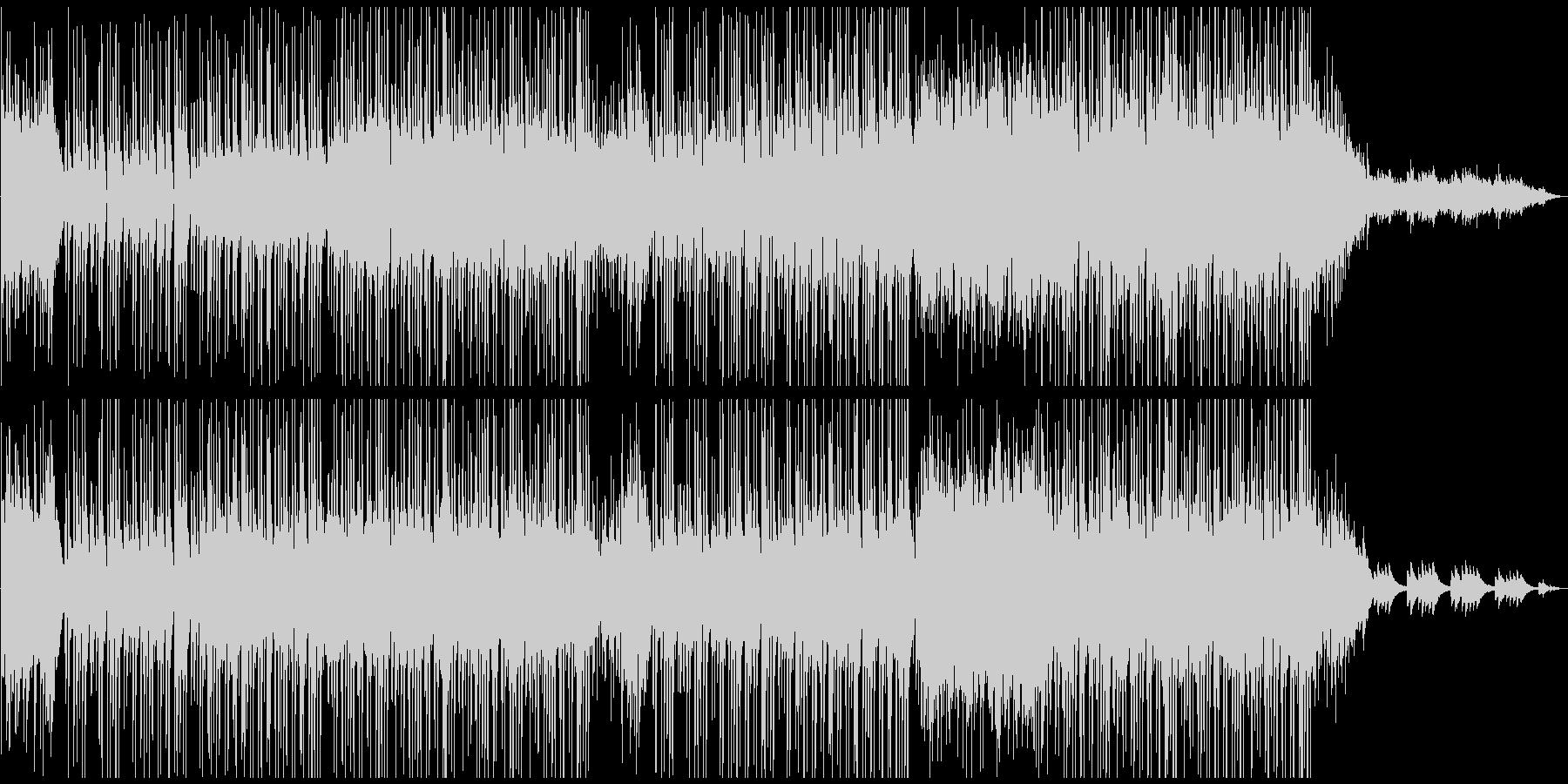 優しく穏やかな雰囲気の3拍子の曲の未再生の波形