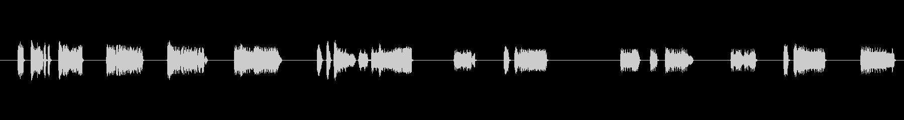 小鳥笛3水笛お祭り屋台歌舞伎和風下座壊れの未再生の波形