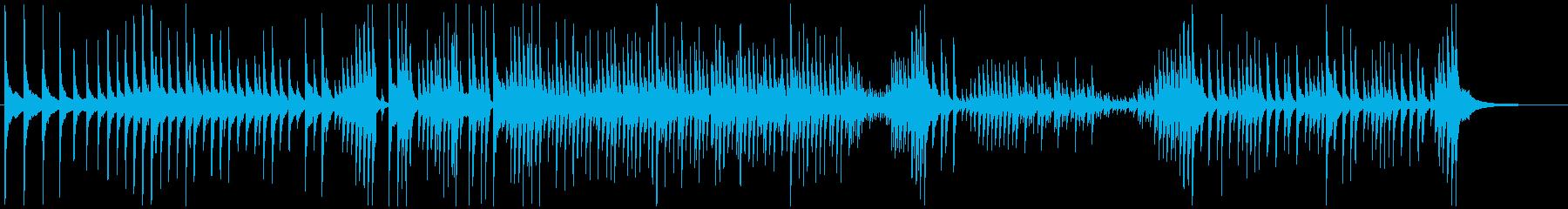 津軽三味線ソロ-E、激しい、疾走、声入りの再生済みの波形