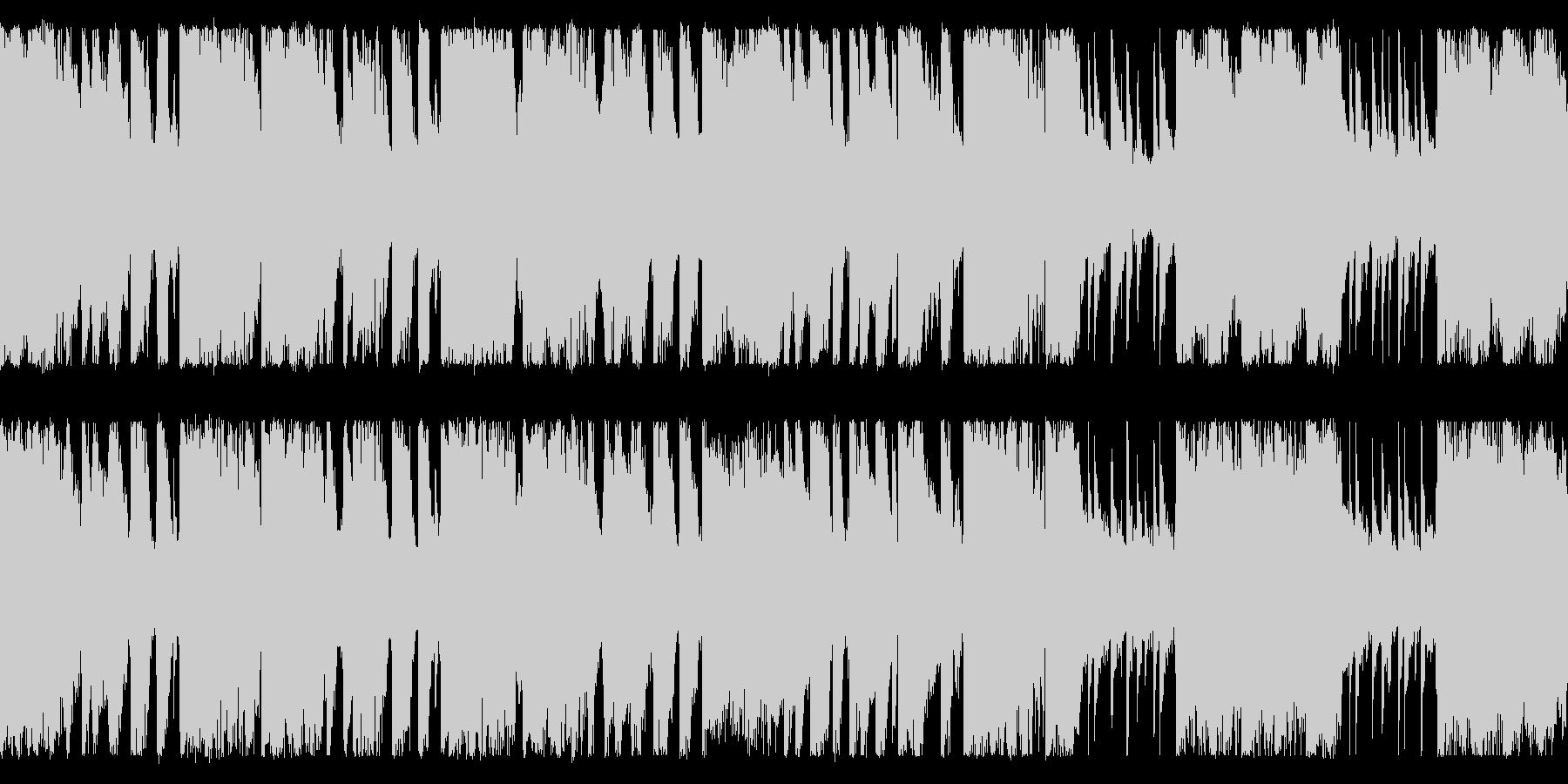 エキサイティングなビッグバンド[ループ]の未再生の波形