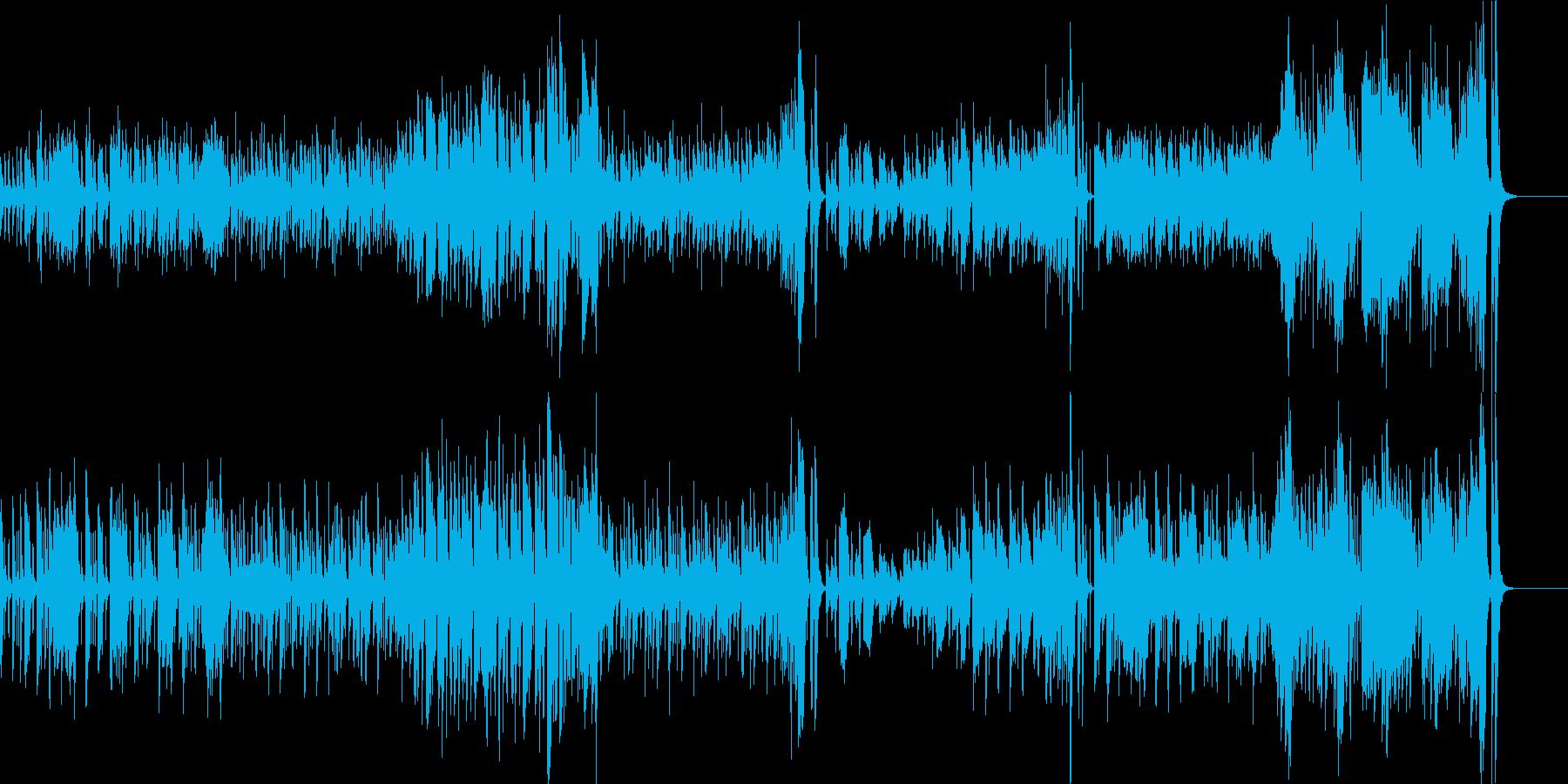 バンドネオンが奏でる劇伴系可愛いポップスの再生済みの波形