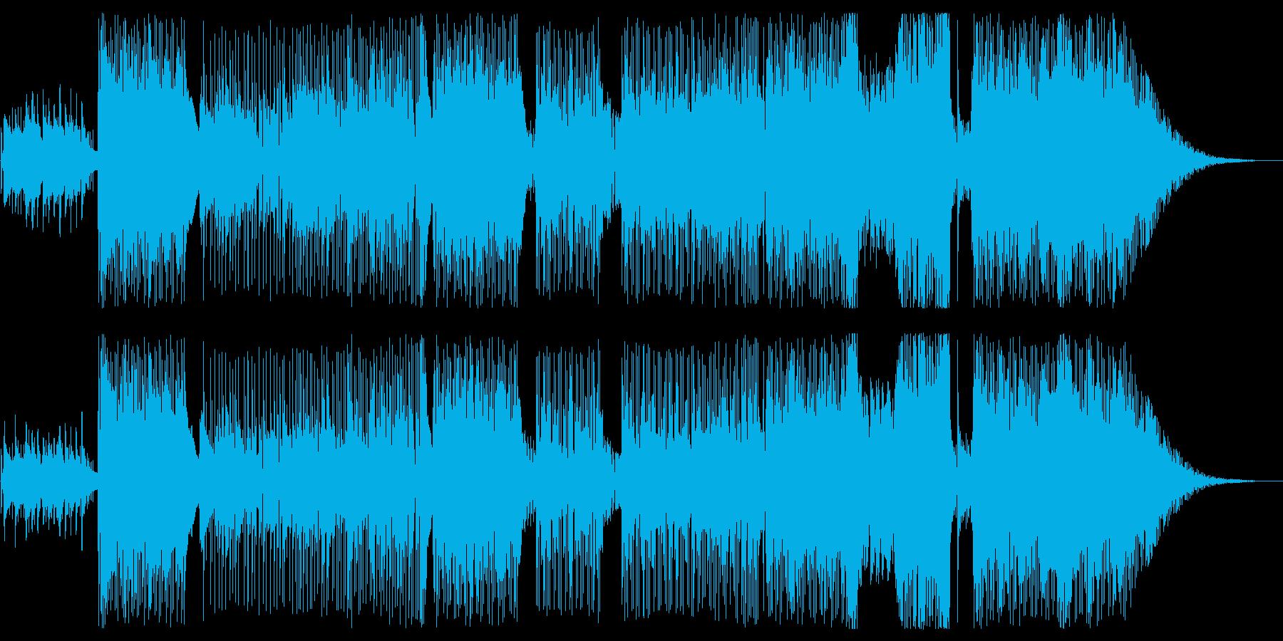 きらきら、かわいいインスト!の再生済みの波形
