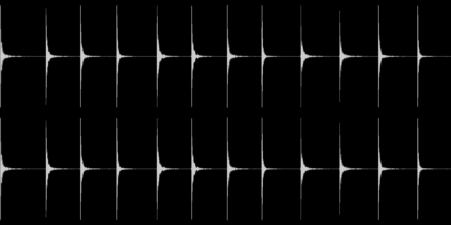 x:木に刻まれた絶え間ない刻の未再生の波形