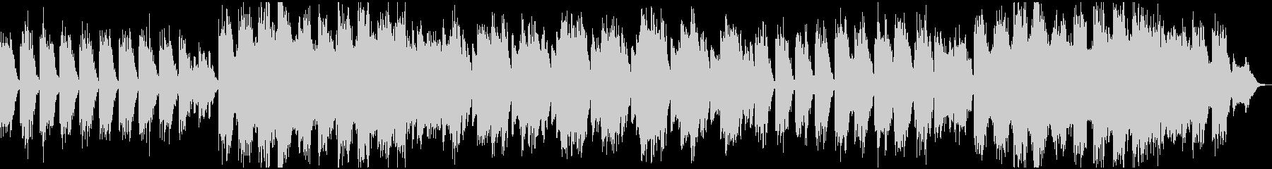 深いリラクゼーションの美しい音楽の未再生の波形