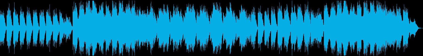 深いリラクゼーションの美しい音楽の再生済みの波形