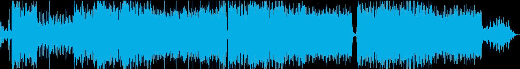 透明感のあるボーカルが印象的なバラードの再生済みの波形