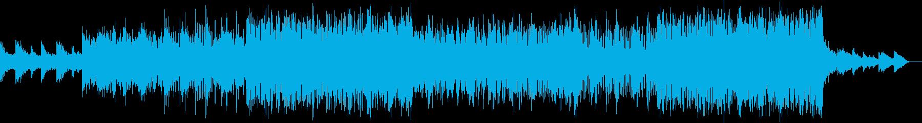壮大な雰囲気のEDMの再生済みの波形