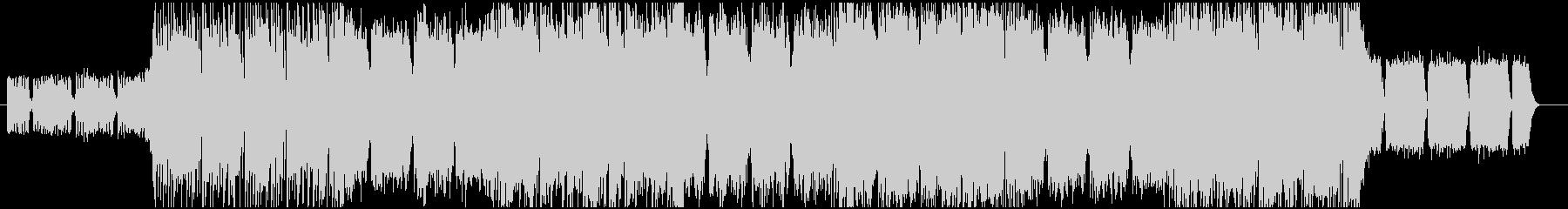 疾走感あるメタル・ロック系BGM_1の未再生の波形