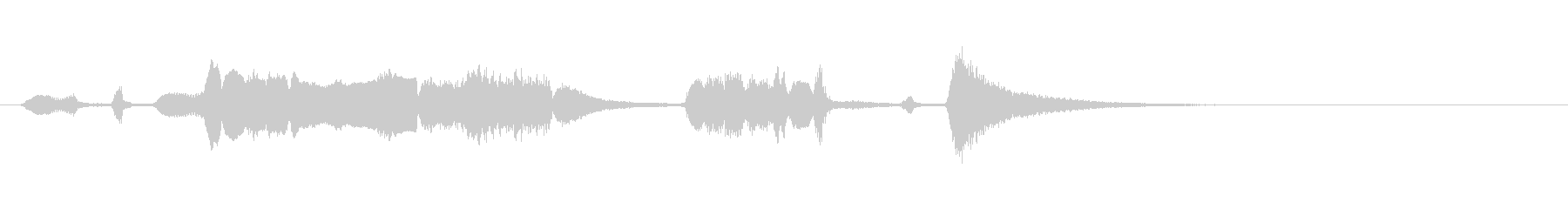 【生演奏】アコーディオンジングル41の未再生の波形