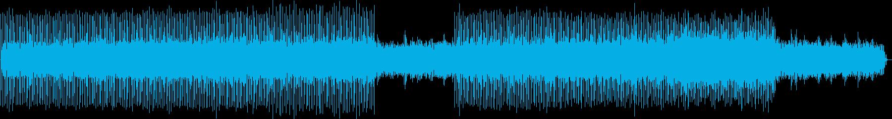 ほのぼのドライブミュージックの再生済みの波形