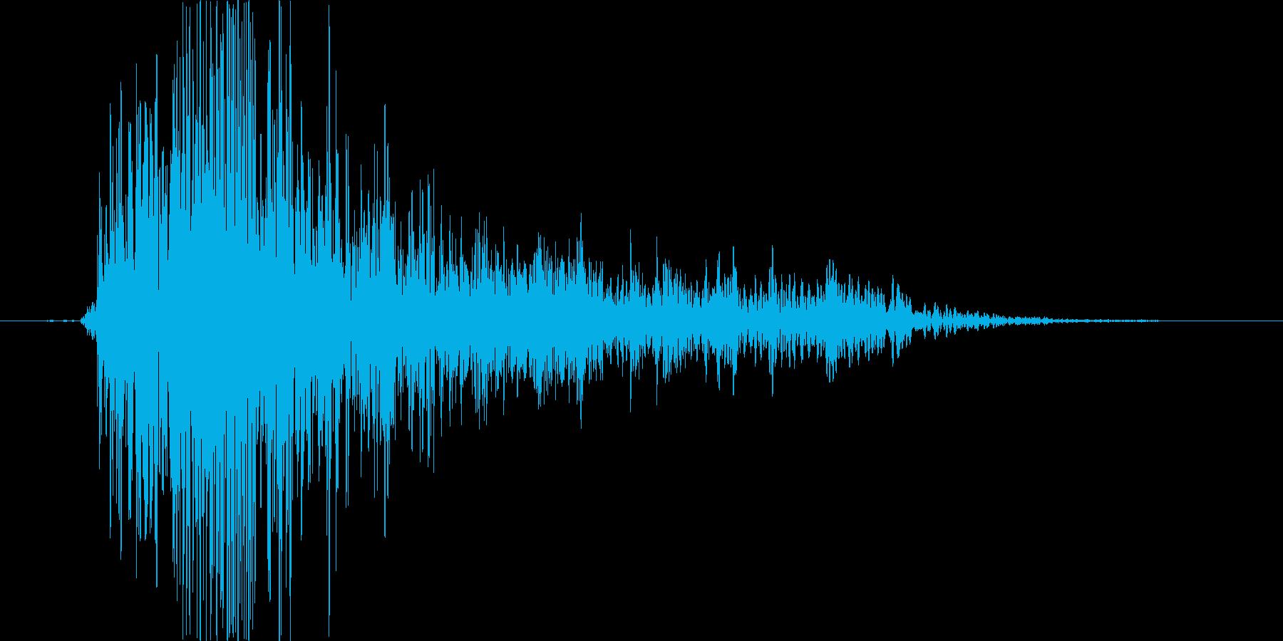 オォーッの再生済みの波形