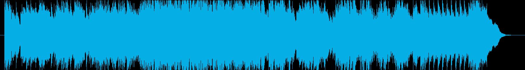 虹をイメージした爽やかなピアノBGMの再生済みの波形