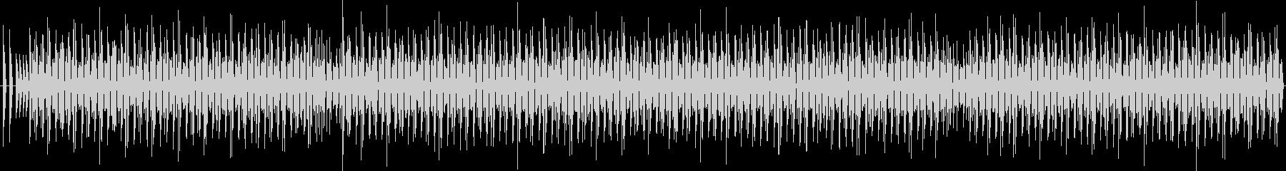 軽薄な感じのBGM#1 ♩=130 の未再生の波形