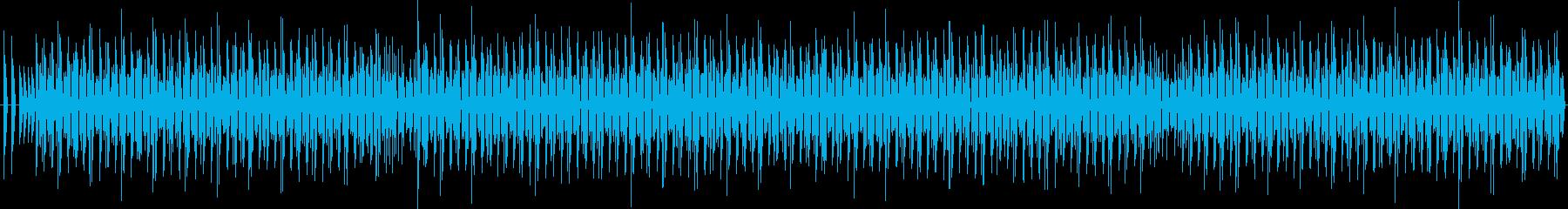軽薄な感じのBGM#1 ♩=130 の再生済みの波形