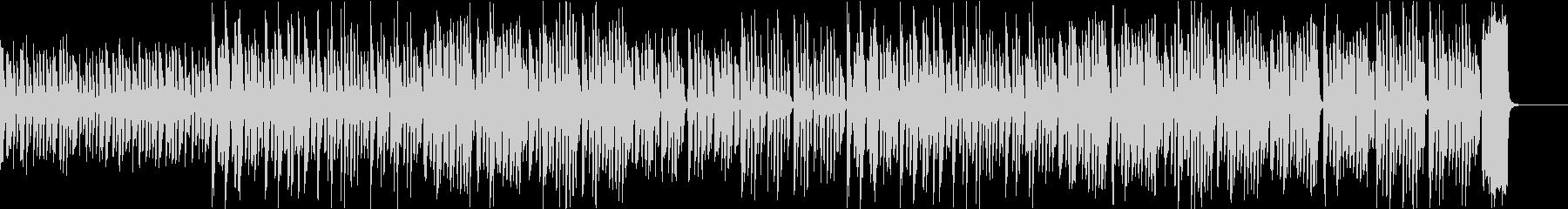 動画向け ゆるい雰囲気のリコーダーBGMの未再生の波形
