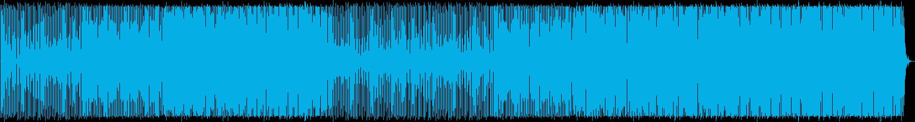 疾走感/ハウス_No448の再生済みの波形
