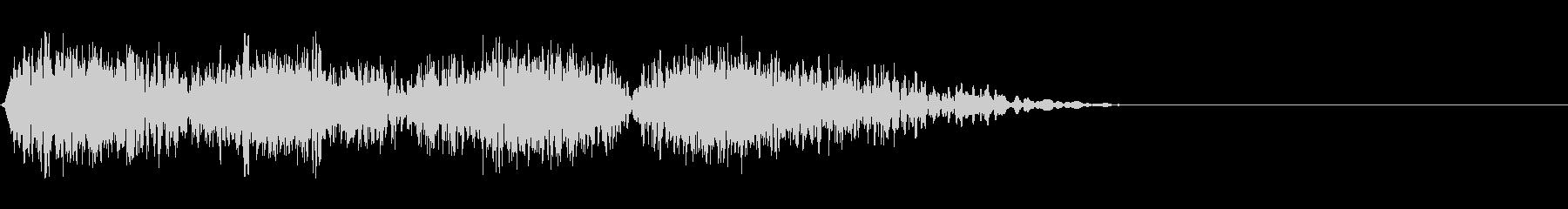 DJスクラッチ08_ワンショット03の未再生の波形