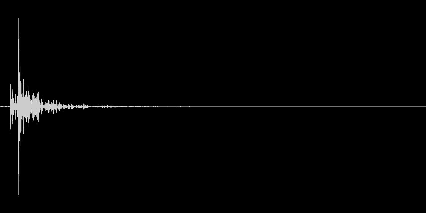 シボレーカマロドアクローズ、ライトの未再生の波形