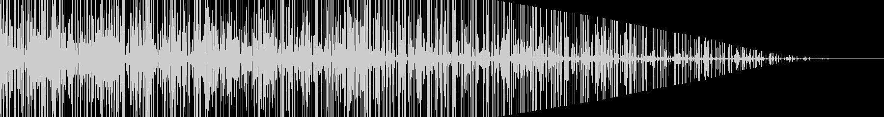 パチパチ…枯れ木と燃やしている音の未再生の波形