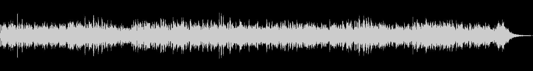 ほのぼのと癒されるローズピアノサウンドの未再生の波形