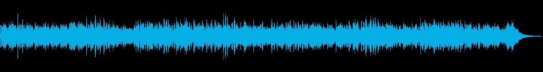 ほのぼのと癒されるローズピアノサウンドの再生済みの波形