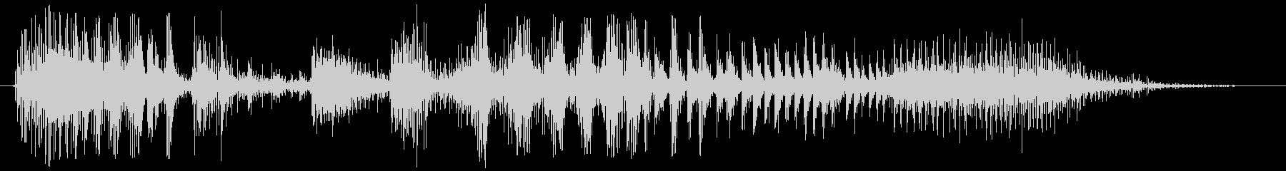 ノイズ スカットル03の未再生の波形