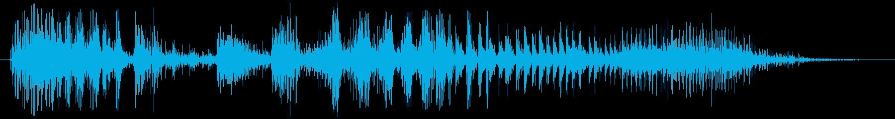 ノイズ スカットル03の再生済みの波形