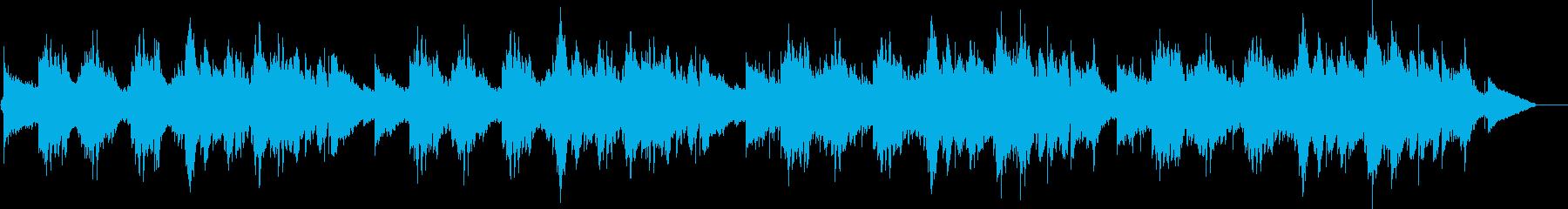 アダルトでけだるいムード音楽の再生済みの波形