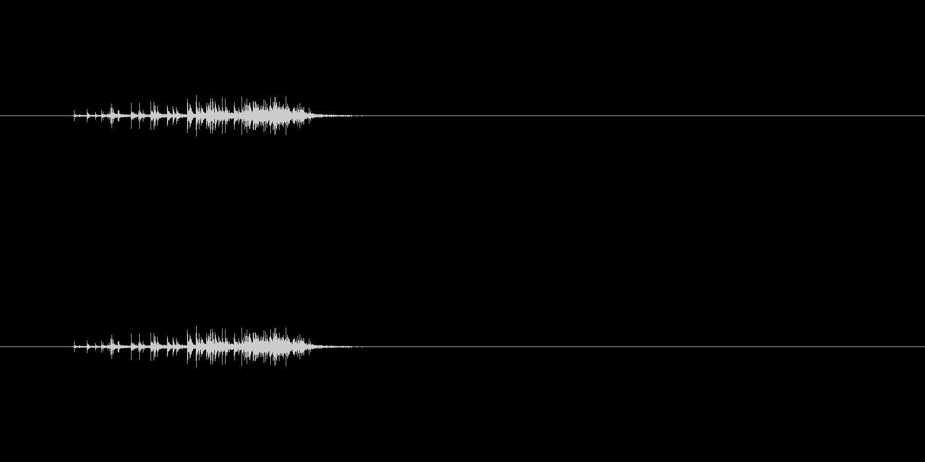 【セロテープ02-5(剥がす)】の未再生の波形