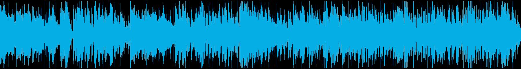 おしゃれ知的スマートジャズ※ループ仕様版の再生済みの波形