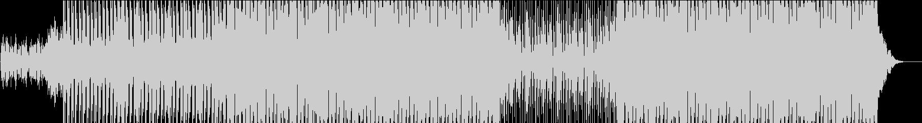 浮遊感あるメロのハウスの未再生の波形