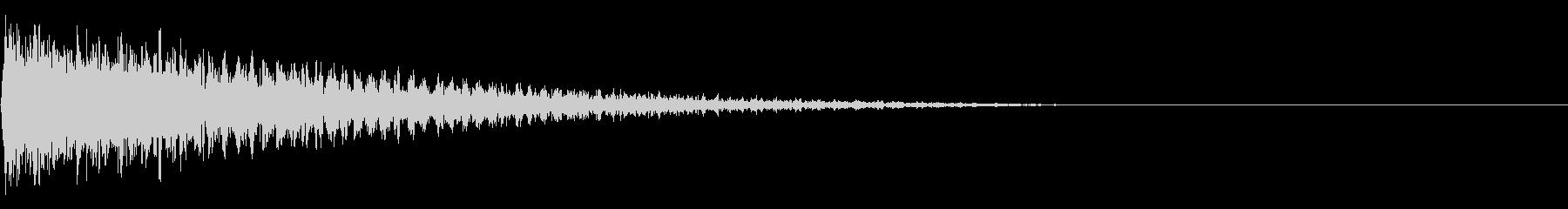 ガーン(がっかり、ショック)03の未再生の波形