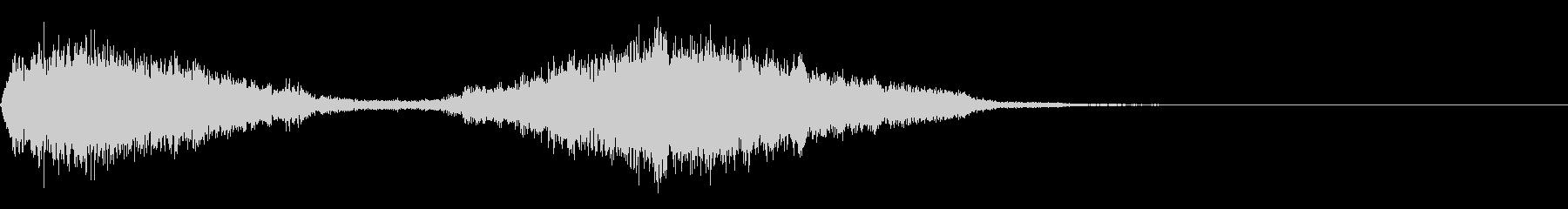 シューッという音EC07_90_4 2の未再生の波形