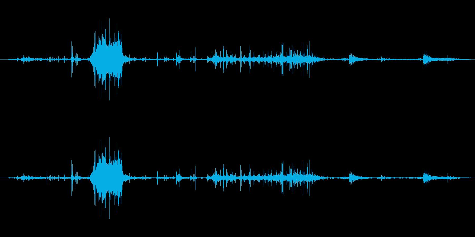 紙 リップアンドラッスル01の再生済みの波形