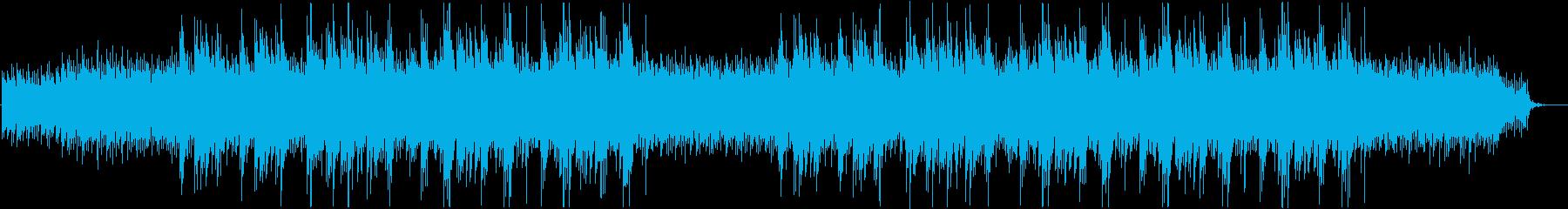 企業VP_爽やかなギターのポップサウンドの再生済みの波形